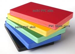 Coloured Co-extrusion PVC foam board
