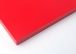 ColouredCo-extrusionPVCfoamboard red