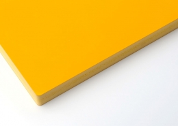 ColouredCo-extrusionPVCfoamboard yellow 3