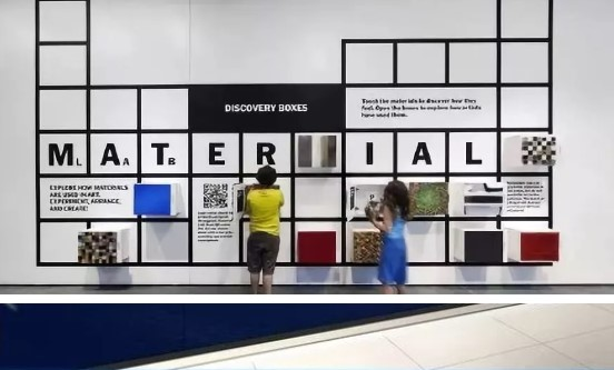 Culture Wall - discovery boxes