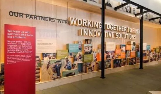 Culture Wall - our partners work