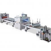 PUR machine production line