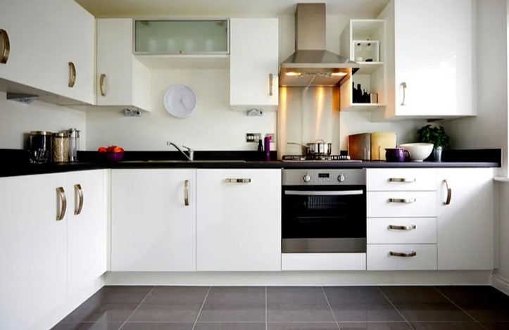 PVC board is used in kitchen decoration