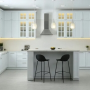 PVC boards are used in kitchen furniture