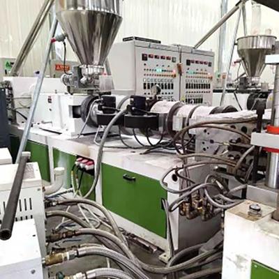Single-layer skin foam board production line