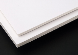 White Clay coated Paper Foam board