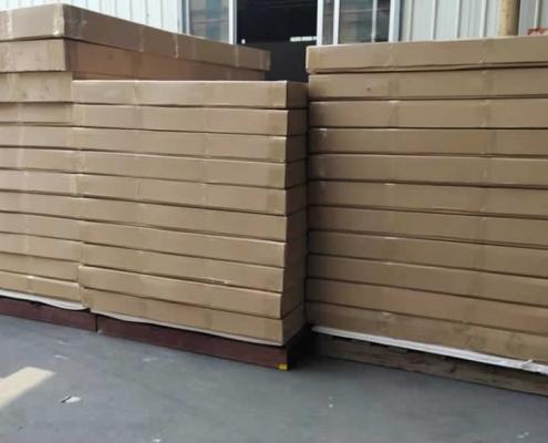 foam board container loading