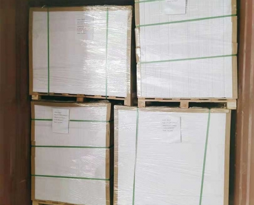 pvc foam board loading wooden pallet 1