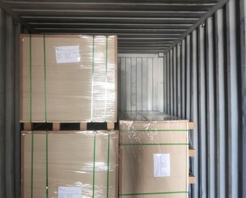 pvc foam board loading wooden pallet 2